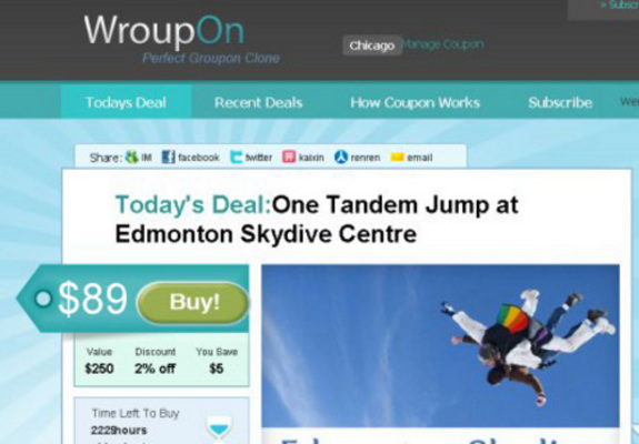 Product picture Daily Deal Groupon Living Social Clone Script