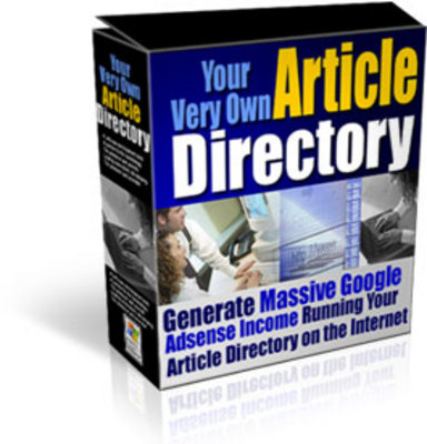 Product picture Article Directory with MRR