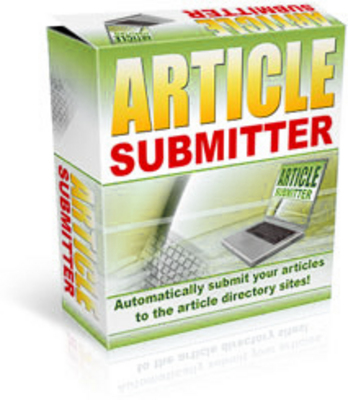 Product picture Article Submitter Software with MRR
