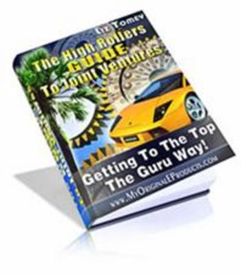 Product picture The High Rollers Guide To Joint Ventures + master resale rig