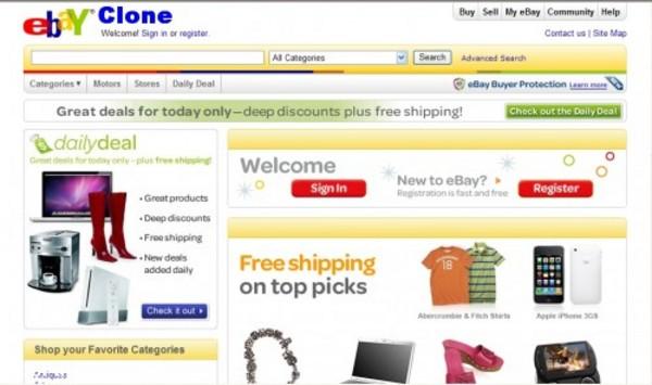 Product picture Ebay Clone Script